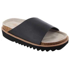 🆕️ Chooka Black Leather Slide